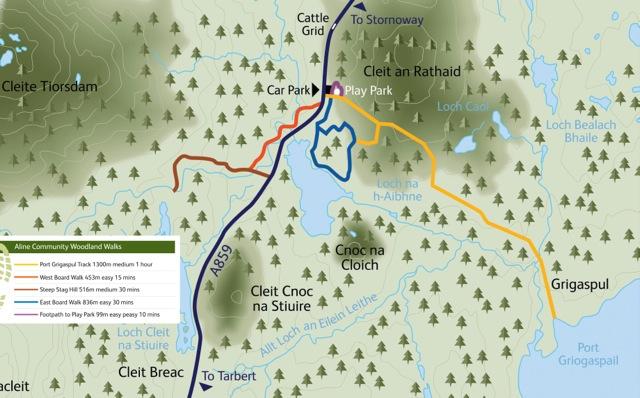 Aline Main Board Map