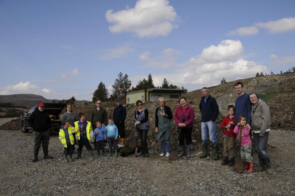 Treeplanting Volunteers