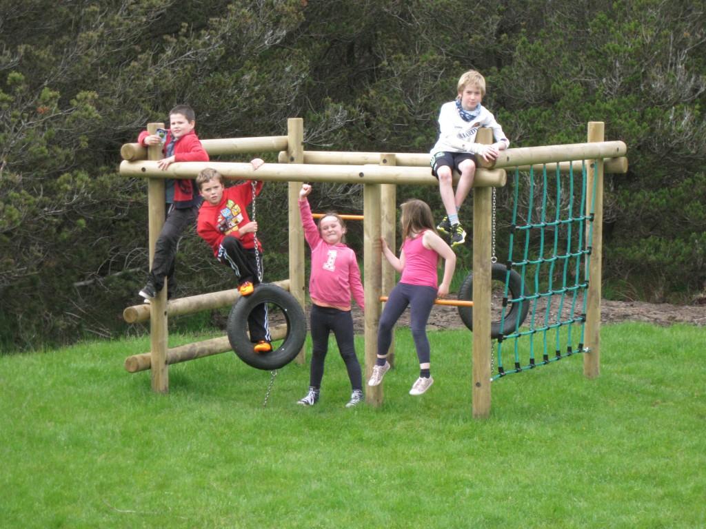Aline climbing frame
